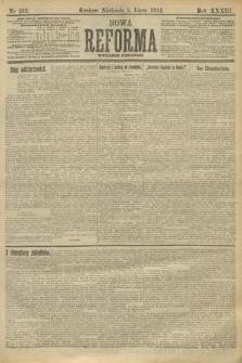 Nowa Reforma (wydanie poranne). 1914, nr263