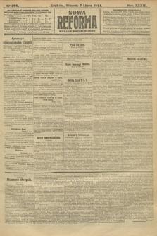 Nowa Reforma (wydanie popołudniowe). 1914, nr266
