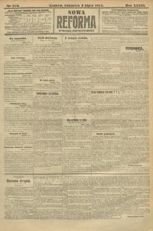 Nowa Reforma (wydanie popołudniowe). 1914, nr270
