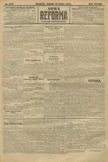 Nowa Reforma (wydanie popołudniowe). 1914, nr272