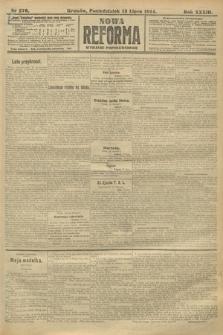 Nowa Reforma (wydanie popołudniowe). 1914, nr276