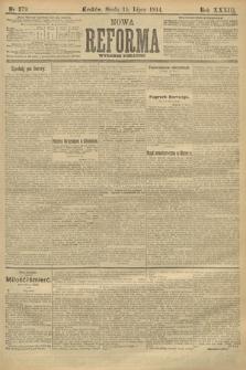 Nowa Reforma (wydanie poranne). 1914, nr279