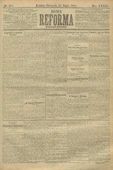 Nowa Reforma (wydanie poranne). 1914, nr281