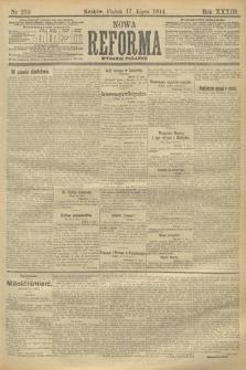 Nowa Reforma (wydanie poranne). 1914, nr283
