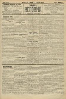 Nowa Reforma (wydanie popołudniowe). 1914, nr284