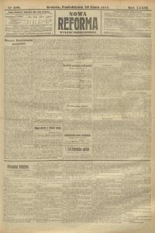 Nowa Reforma (wydanie popołudniowe). 1914, nr288