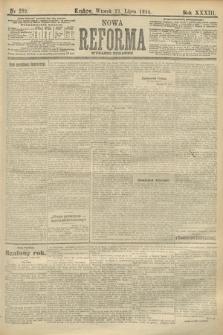 Nowa Reforma (wydanie poranne). 1914, nr289
