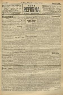 Nowa Reforma (wydanie popołudniowe). 1914, nr290