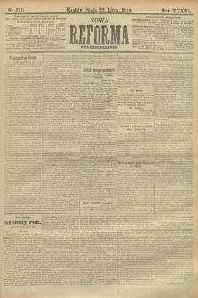 Nowa Reforma (wydanie poranne). 1914, nr291