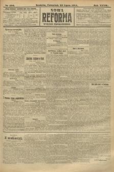 Nowa Reforma (wydanie popołudniowe). 1914, nr294