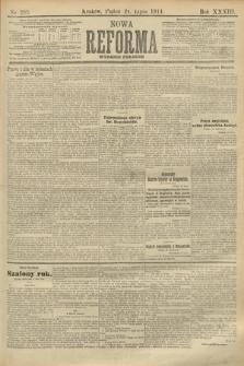 Nowa Reforma (wydanie poranne). 1914, nr295