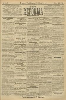 Nowa Reforma (wydanie poranne). 1914, nr301