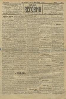 Nowa Reforma (wydanie popołudniowe). 1914, nr304