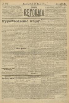 Nowa Reforma (wydanie poranne). 1914, nr306