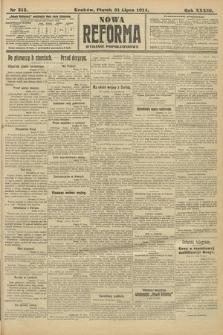 Nowa Reforma (wydanie popołudniowe). 1914, nr312