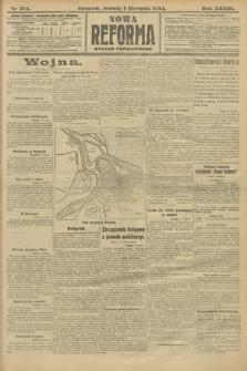 Nowa Reforma (wydanie popołudniowe). 1914, nr314