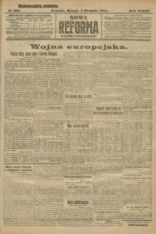 Nowa Reforma (wydanie popołudniowe). 1914, nr322