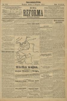 Nowa Reforma (wydanie poranne). 1914, nr323