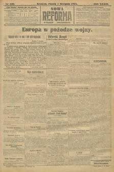 Nowa Reforma (wydanie popołudniowe). 1914, nr330