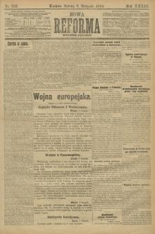 Nowa Reforma (wydanie poranne). 1914, nr332