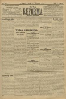 Nowa Reforma (wydanie poranne). 1914, nr357