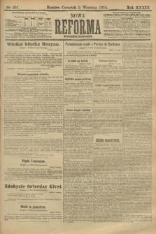 Nowa Reforma (wydanie poranne). 1914, nr381