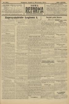 Nowa Reforma (wydanie popołudniowe). 1914, nr384