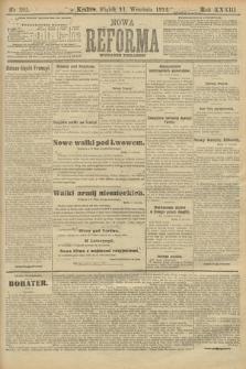 Nowa Reforma (wydanie poranne). 1914, nr395