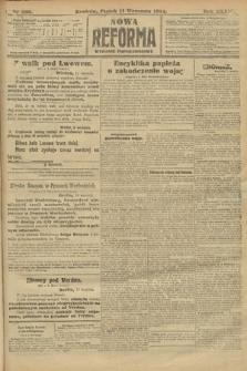 Nowa Reforma (wydanie popołudniowe). 1914, nr396