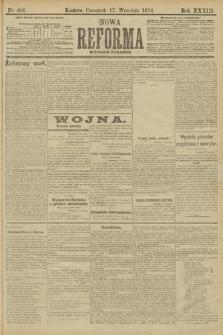 Nowa Reforma (wydanie poranne). 1914, nr406