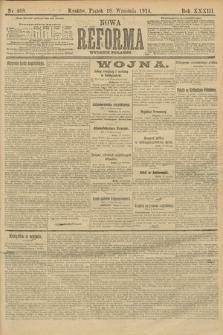 Nowa Reforma (wydanie poranne). 1914, nr408
