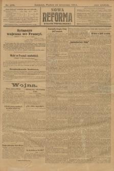 Nowa Reforma (wydanie popołudniowe). 1914, nr409