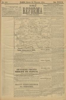 Nowa Reforma (wydanie poranne). 1914, nr410
