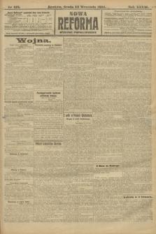 Nowa Reforma (wydanie popołudniowe). 1914, nr418