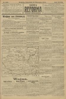 Nowa Reforma (wydanie popołudniowe). 1914, nr420