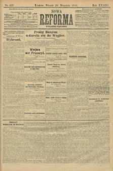 Nowa Reforma (wydanie poranne). 1914, nr428