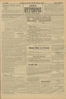 Nowa Reforma (wydanie popołudniowe). 1914, nr431