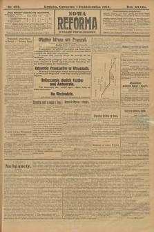 Nowa Reforma (wydanie popołudniowe). 1914, nr433