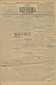 Nowa Reforma (wydanie poranne). 1914, nr441
