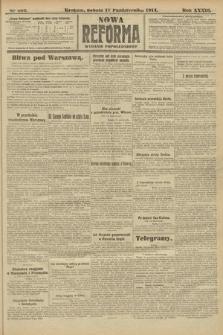 Nowa Reforma (wydanie popołudniowe). 1914, nr463
