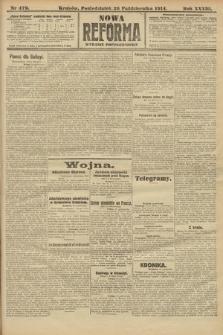 Nowa Reforma (wydanie popołudniowe). 1914, nr479