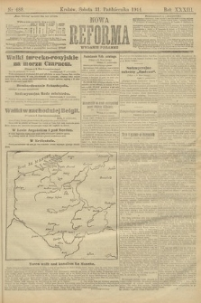 Nowa Reforma (wydanie poranne). 1914, nr488