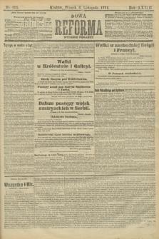 Nowa Reforma (wydanie poranne). 1914, nr493