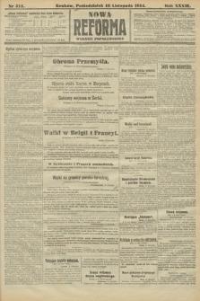 Nowa Reforma (wydanie popołudniowe). 1914, nr514