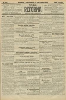 Nowa Reforma (wydanie popołudniowe). 1914, nr521