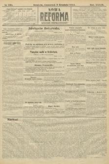 Nowa Reforma (wydanie popołudniowe). 1914, nr531