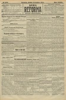 Nowa Reforma (wydanie popołudniowe). 1914, nr539