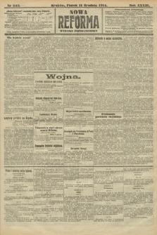 Nowa Reforma (wydanie popołudniowe). 1914, nr543