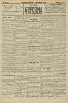 Nowa Reforma (wydanie popołudniowe). 1914, nr545