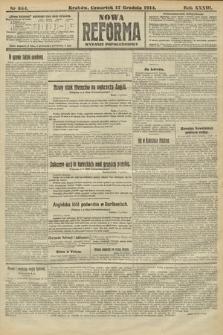 Nowa Reforma (wydanie popołudniowe). 1914, nr554